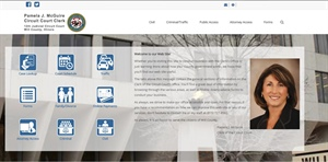 CIRCUIT CLERK'S OFFICE WEBSITE GETS NEW LOOK